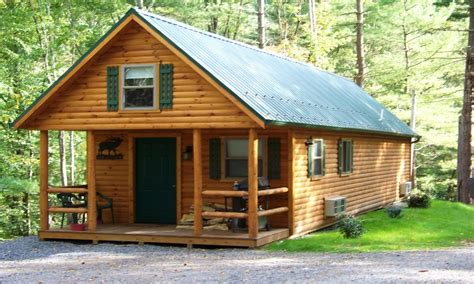 Authentic And Cozy Modern Cabin Plans With Loft — Modern