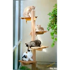 outdoor cat perch perch 71 inch outdoor or indoor cat tower 5