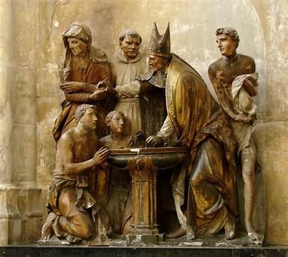 Baptism Sacraments Catholic Church Sin Person St
