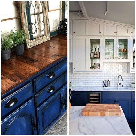 kitchens with blue cabinets 4 ways to use navy blue in your kitchen 6606
