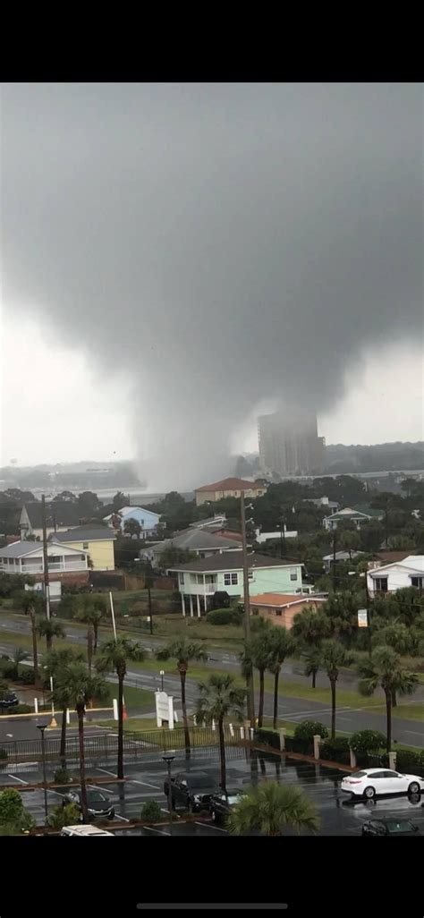 tornado walton fort beach fl nwfdailynews nws hits florida update fwb