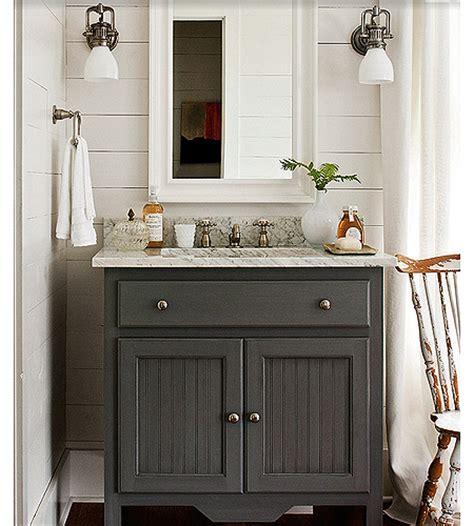 Beadboard Bathroom Cabinet  J Tribble