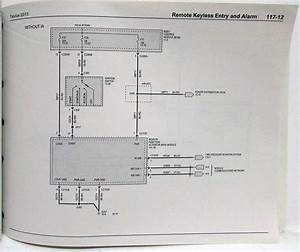 2013 Ford Taurus Interceptor Electrical Wiring Diagrams Manual