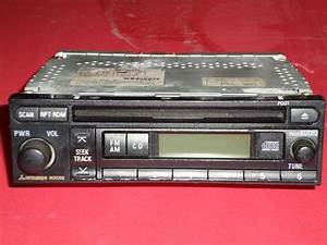 Sell Mitsubishi Motors Am  Fm  Cd Car Stereo Reciever Model Mr587268 Motorcycle In Hawthorne