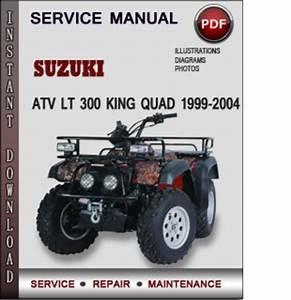 Suzuki Atv Lt 300 King Quad 1999