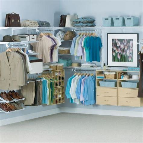Rubber Made Closet Organizers by Rubbermaid Deluxe Closet Organizer System 74 14 Was 88