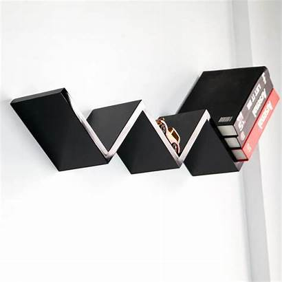 Wall Shelf Stylish Recycled Unique Shape Projects
