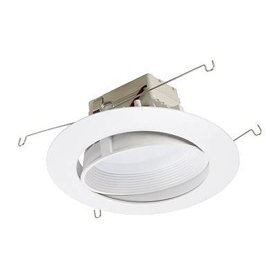 6 quot dimmable adjustable led recessed lighting retrofit
