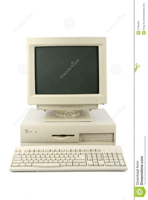 ordinateur de bureau photographie stock image 2195492