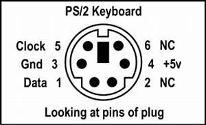 making an ibm ps 2 keyboard cable With wiring diagram usb ps2