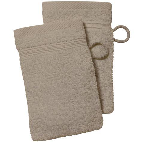 lot linge de toilette lot de 2 gants de toilette linge de lit kiabi 2 00