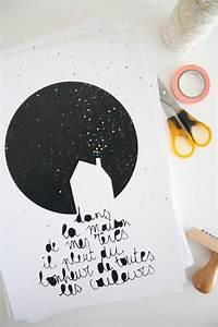 La Maison De Mes Reves : une affiche de petit sweet ~ Nature-et-papiers.com Idées de Décoration