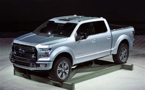 ford atlas concept is the future vision for the company s pickup trucks carguideblog