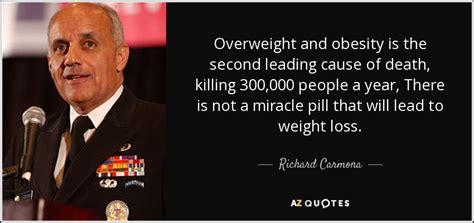 richard carmona quote overweight  obesity