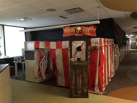 17 best ideas about halloween cubicle on pinterest
