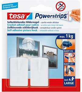 Bilder Ohne Nagel Aufhängen : tesa 58031 tesa powerstrips bilder nagel wei bei reichelt elektronik ~ Indierocktalk.com Haus und Dekorationen