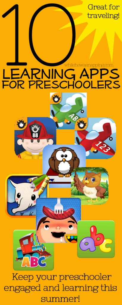 10 preschool learning apps that are worth every 134 | 10 Learning Apps for Preschoolers