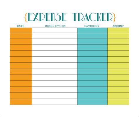 expense tracker template 18 expense tracking templates free sle exle format free premium templates