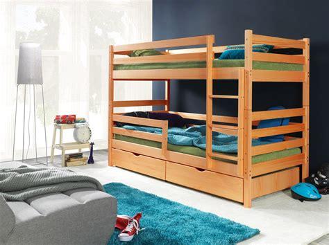 meubles rangement chambre deco in lits superposes en bois maron mathilde