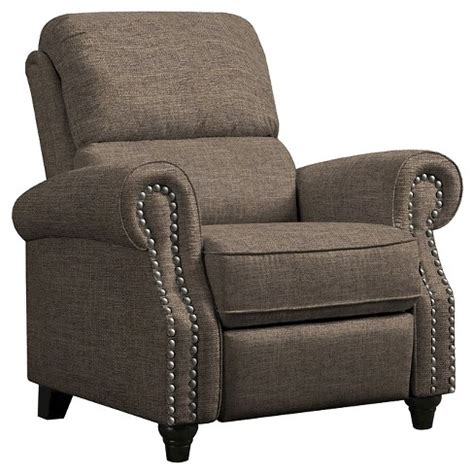 push back recliner chair prolounger 174 push back recliner chocolate brown handy 4460