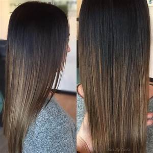 35 Dark Brown Colored Balayage Hairstyles 2017 | Hairstyle ...