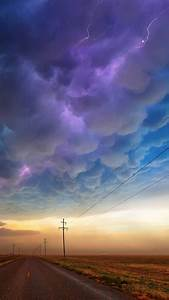 Clouds, Road, Lightning, Wallpapers, Hd, Desktop, And, Mobile