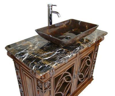 chans furniture hfgf vigo cherry wood bathroom
