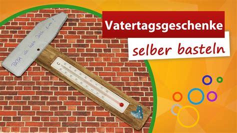 vatertagsgeschenke kindern vatertagsgeschenke selber basteln thermometer bastelidee trendmarkt24