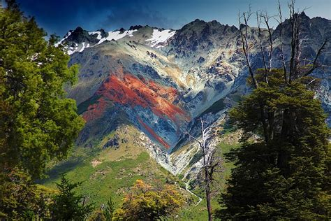 Mountains And Scenery In Patagonia Argentina Image Free