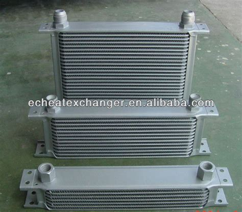 Aluminum Stack Layer Structure Brazed Car Oil Cooler