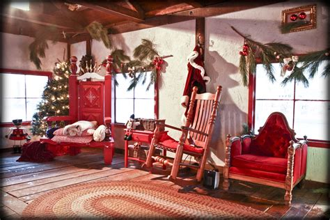 bureau du pere noel décoration maison du pere noel exemples d 39 aménagements