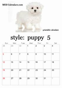 January 2020 Calendars Cute Printable Puppy Calendars Templates For Calendars To
