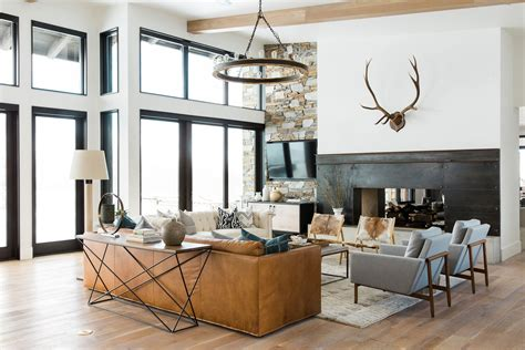 studio mcgee   utah mountain home  modern edge