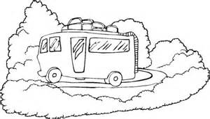 Camper Coloring Pages Printable