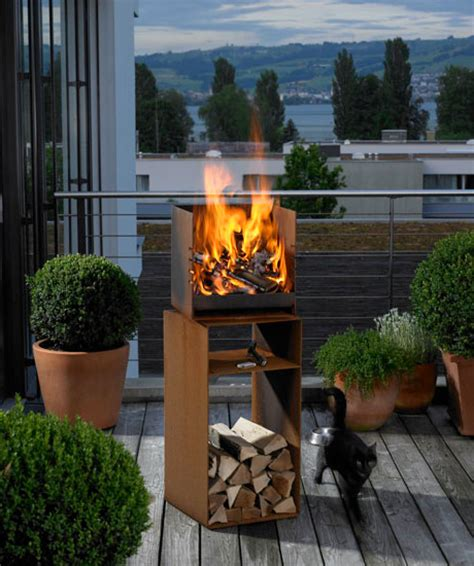 garden fireplace  attika