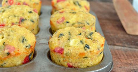 cuisiner le quinoa muffins déjeuner aux œufs quinoa jambon et légumes