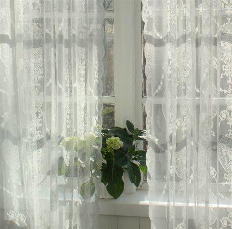 Tagesdecke Mit Gardinen by Vorhang Avery Offwhite Spitzen Gardine 140x240 Cm 2 St 252 Ck
