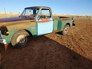 1969 Chevy C10 C20 2wd Stepside Long Bed V8 3  4 Ton Manual