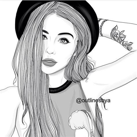 pin  muskan dhukka  art   tumblr girl drawing