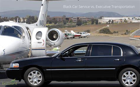 Car Service York by Black Car Service Vs Executive Transportation In New York