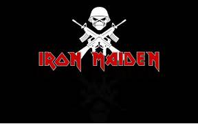 Iron Maiden Trooper Logo Iron Maiden Logo Wallpaper by  Iron Maiden Trooper Wallpaper