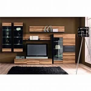 Welche Wandfarbe Passt Zu Nussbaum : wohnwand nussbaum in wohnzimmer kaufen sie zum g nstigsten ~ Watch28wear.com Haus und Dekorationen