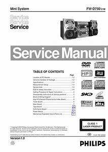Manual De Servi U00e7o Mini System Philips Fw D750 21m By Portal Da Eletr U00f4nica
