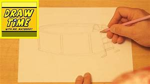 How to Draw a Swimming Pool - YouTube