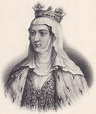 Margaret of Burgundy, Queen of France (portrayed in a ...