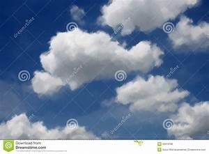 Peinture Bleu Ciel : ciel bleu de peinture l 39 huile avec le nuage illustration stock image 43518186 ~ Melissatoandfro.com Idées de Décoration