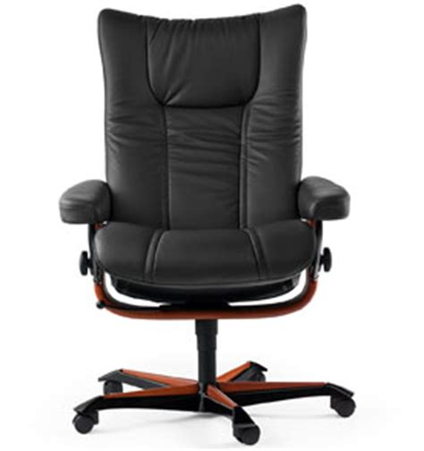stressless wing office desk chair by ekornes seating
