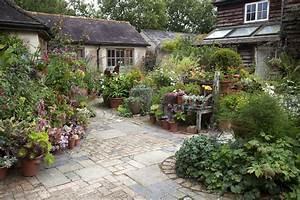 The, Courtyard, Garden