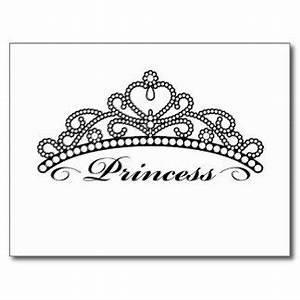Pageant Crown Clip Art | Princess Crown Postcards | Crowns ...