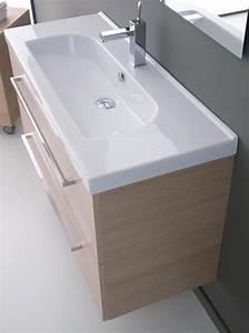 Mobili bagno: Arredo bagno Aurora 70 Wengè Profondità 40 cm